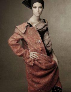 Photo: Steven Meisel for Vogue Italia, October 2014 ('Shape Shift').