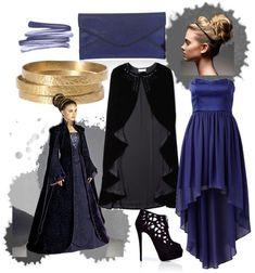 Natalie Portman in Star Wars: Style Inspiration (II) Cute Disney Outfits, Disney Bound Outfits, Disney Cosplay Costumes, Easy Costumes, Halloween Costumes, Disney Inspired Fashion, Disney Fashion, Vampire Dress, Estilo Disney