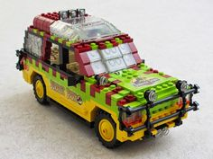 Lego Jurassic Park, Lego Speed Champions, Lego Vehicles, Lego Models, Lego Projects, Lego Moc, Ford Explorer, Christmas Pillow, Lego Creations