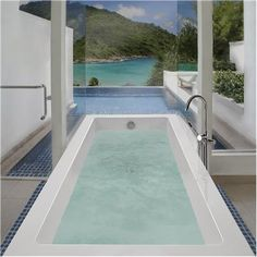 Contemporary Tub from MTI