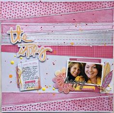 Project Ideas for American Crafts - Amy Tangerine Collection - Rise and Shine - 12 x 12 Double Sided Paper - Rachel Amy Tangerine, American Crafts, Project Life, Project Ideas, Digital Scrapbooking, Scrapbooking Ideas, Artsy Fartsy, Mini Albums, Toy Chest