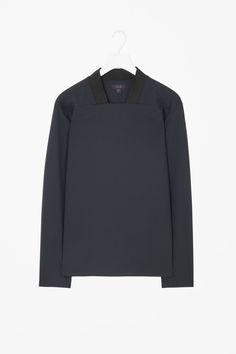COS | Ribbed square-neck top