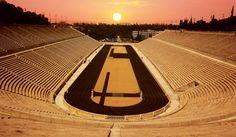 Kallimarmaro Stadium / Athens / Greece Photo by: Elias Chatzoudis Kallimarmaro Stadium My Athens, Athens Greece, Beautiful World, Beautiful Places, Greece Cruise, Giza, Cruise Vacation, Ancient Greek, Olympics
