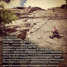 Rock | Creative LDS Quotes    #LDSQuotes #MormonLink.com