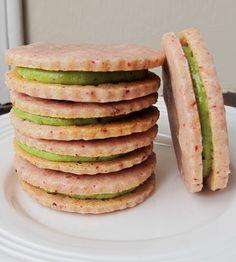... | Sandwich Cookies, Lemon Shortbread Cookies and Wedding Cookies