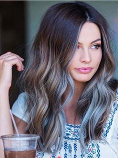 36 Stunning Silver Balayage Hair Color Looks in 2018. Here you may find the inspiring looks and hair color options of silver balayage highlights. These gorgeous shades of hair colors we've especially collected for you. We hope you dont need to find any other hair color style in this year if you try this amazing silver hair color.