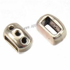 Zinc Alloy Slide Beads,Rhinestones Setting,Plated,Cadmium And Lead Free,Various Color For Choice,Approx 10*5.5*6mm,Hole:Approx 6*3mm,Sold By Bags,No 010267