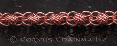 Full Persian Ladder top/bottom | Redcrow at Corvus Chainmaille | Flickr