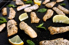 Lemon Basil Chicken by @jesselwellness #chicken #glutenfree