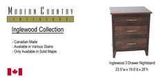Inglewood 3 drawer