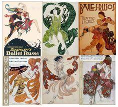 BALLET: Ballets Rusos de Diaghilev (1909-1929)