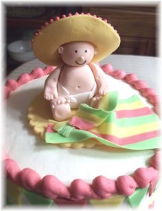 baby shower fiesta theme | Bobbie's Cakes and Cookies: February 2012