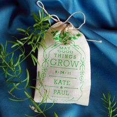 Custom Seed Bomb Wedding Favors  Flowers or Herbs by visualingual, $30.00