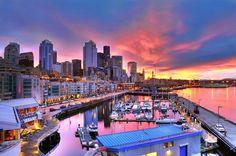 Seattle, Washington- Skyline