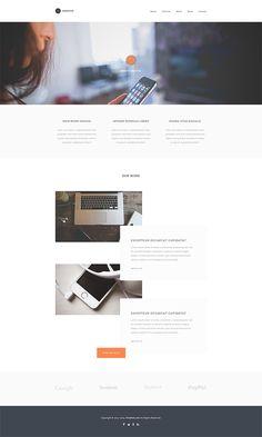 Website: Creativs - Website Template (HTML5, CSS3, JS, PSD)