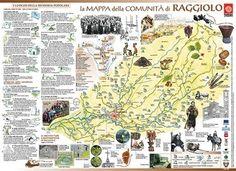 > Mappa di Comunità di Raggiolo (Ar)