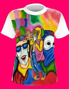 Camisetas-de-carnaval - Estampado y Publicidad Lol, Isco, Illustration, Mens Tops, T Shirt, Fashion, Drawings, Party Dresses, Carnivals