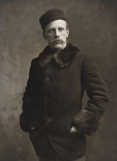 Fridtjof Nansen, ca. 1897  Buffalo, NY  National Library of Norway