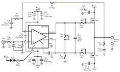 Diy Amplifier, Audio, Circuit Diagram, Audio Amplifier, Home Theaters