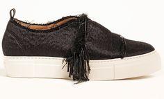 Baskets en soie Calvin Klein Collection