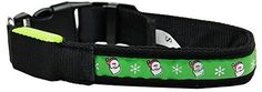 Mirage Pet Products LED Dog Collar Santa, Large *** Check out the image by visiting the link. (This is an affiliate link and I receive a commission for the sales) #MyPet