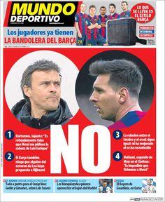 Portada Mundo Deportivo 10/1/2015