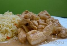 Fűszeres+joghurtos+csirke Chicken Recipes, Chicken Meals, Cravings, Chili, Rice, Healthy Recipes, Cooking, Food, Cooking Food