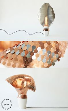 EYE OF THE LIGHT by Malgorzata Mozolewska. (spotted on: FORM & SEEK at Ventura lambrate).