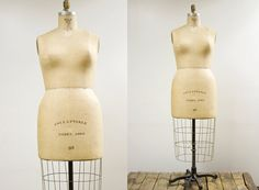 1969 Vintage Wolf Dress Form Size 38 by oldnewhouse on Etsy, $635.00