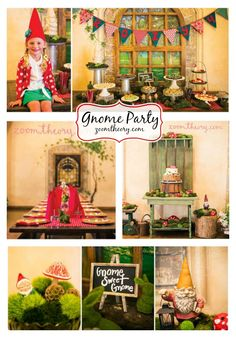 Garden Gnome Birthday Party by Meredith from Zoom Theory! This party is just full of charming garden decor and full of magical details. Not to mention delicious food!