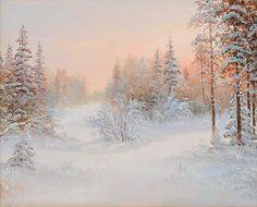 А.Рудич. Морозное утро