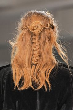Hair at rodarte fall/winter 2013