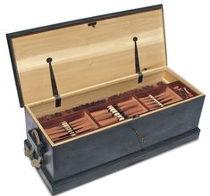 Adam Cherubini Tool Chest. Chisels and moulding planes!