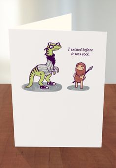 Greeting Cards At Target Before The Ice Age By Threadless Artist Aaron Jay From United Kingdom