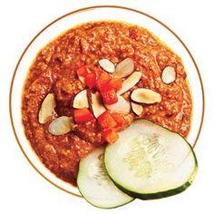 Roasted Red Pepper Dip Recipe | MyRecipes.com