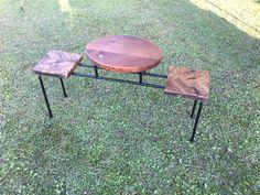テーブル付きベンチ