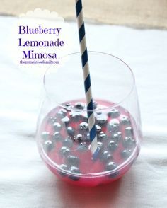Blueberry Lemonade Mimosa & Pink Junction | The NY Melrose Family