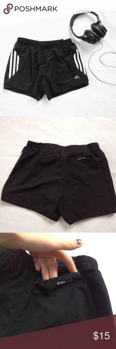 Adidas Response Black & White Shorts Adidas Response. ClimaCool. Back pocket. Elastic waist with drawstring. Inside underwear/coverage. Brand new, never worn. Adidas Shorts