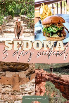 Arizona Road Trip, Arizona Travel, Sedona Arizona, Tourist Spots, Vacation Spots, Places To Travel, Places To Go, Barcelona, Weekend Trips