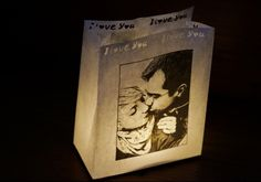 You can order them with your own photo - great or? /DIY wedding gift ideas
