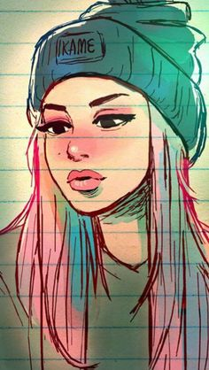 Benim olduğum gibi – My Pin Page Tumblr Drawings, Girly Drawings, Pencil Art Drawings, Art Drawings Sketches, Cartoon Drawings, Tumblr Girl Drawing, Cartoon Kunst, Anime Kunst, Cartoon Art