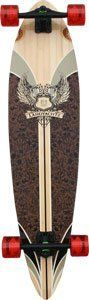 Landyachtz Bamboo Totem Stripe Complete Longboard - 10x41 by Landyachtz. $188.48. This board is a classic top mount pintail made out of bamboo to give it added flex. A simple, functional board that is ideal for cruising around town and pushing along the beachside boardwalk.. Save 11%!