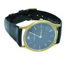 Vintage Jaeger-LeCoultre 18K Gold Mechanical Mens Watch