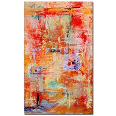 """Found it at Wayfair - """"Odessy"""" by Pat Saunders-White Framed Painting Print on Wrapped Canvas"""