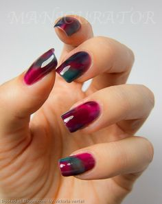 By victoria vertel. I created this look with the 3 Zoyas from the Gloss Collection. One coat of Paloma, then I just randomly layered Frida, Paloma and Katherine. It was very easy because these polishes have such a great formula!  @Bloom.com