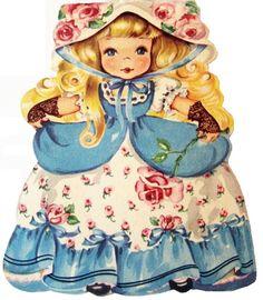 hallmark card doll