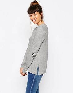 ASOS+Jumper+With+Pug+Elbow+Patch