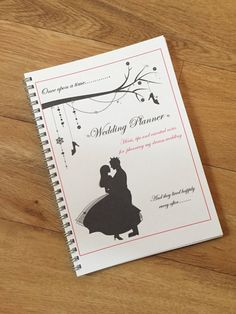A5 Personalised Wedding Planner Bride To Be Journal Notebook