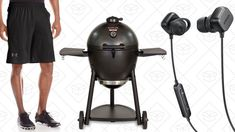 Today's Best Deals: Under Armour Apparel Kamado Grill SoundBuds and More