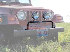 The Big Red Neck Trading Post - Jeep TJ Grill Guard with Light Bar, $72.00 (http://www.thebigrednecktradingpost.com/products/jeep-tj-grill-guard-with-light-bar.html)